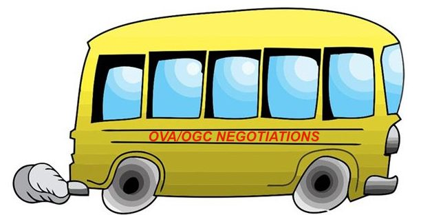 OVA Should be the Driver in OGC Negotiations